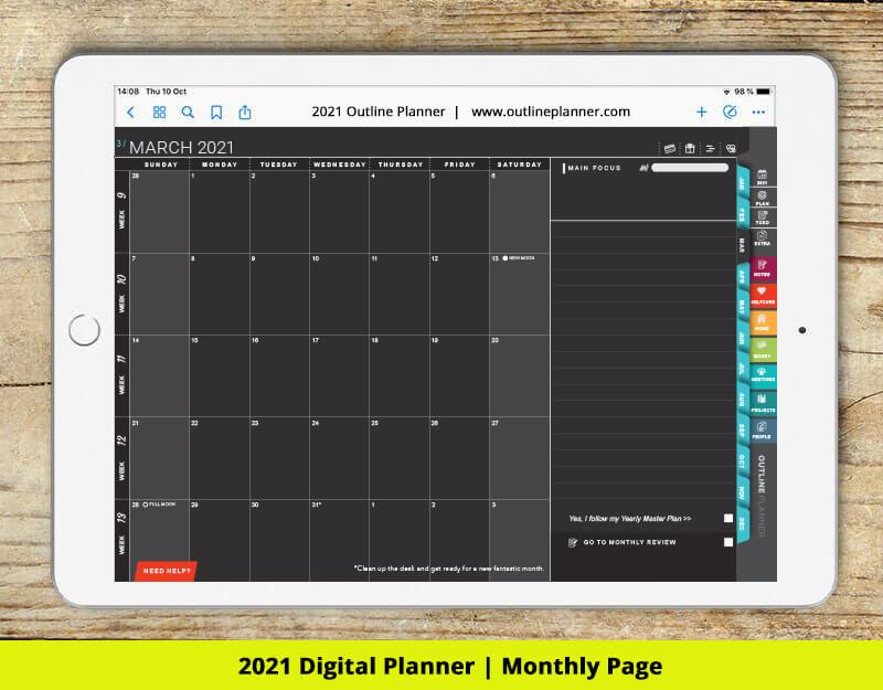 2021 digital planner good notes 5