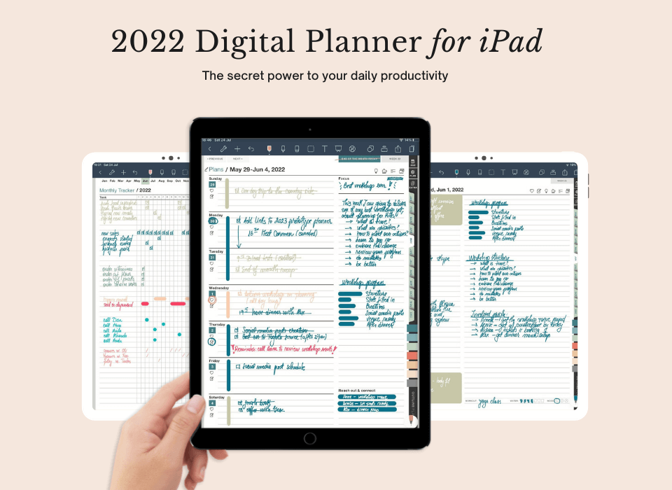 2022 digital planner for iPad