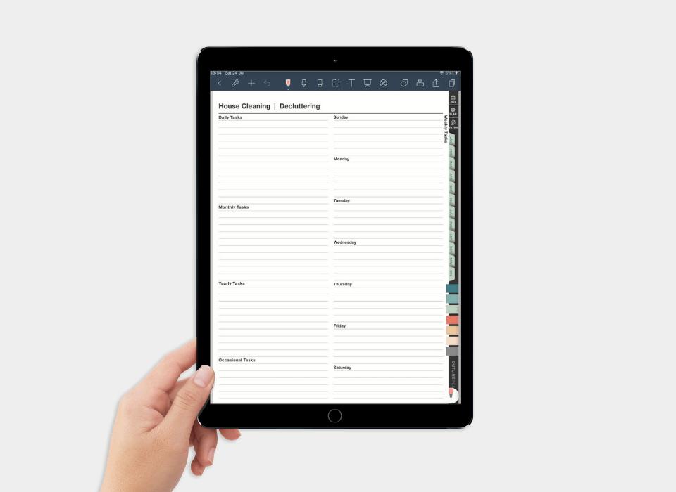 digital planner for goodnotes