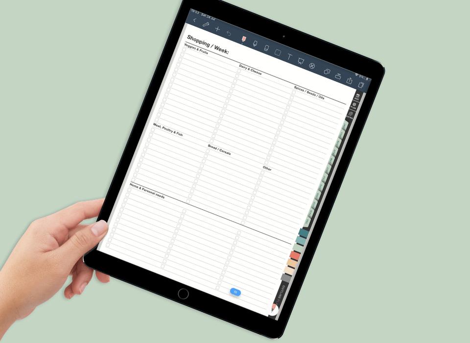 best digital planner for goodnotes