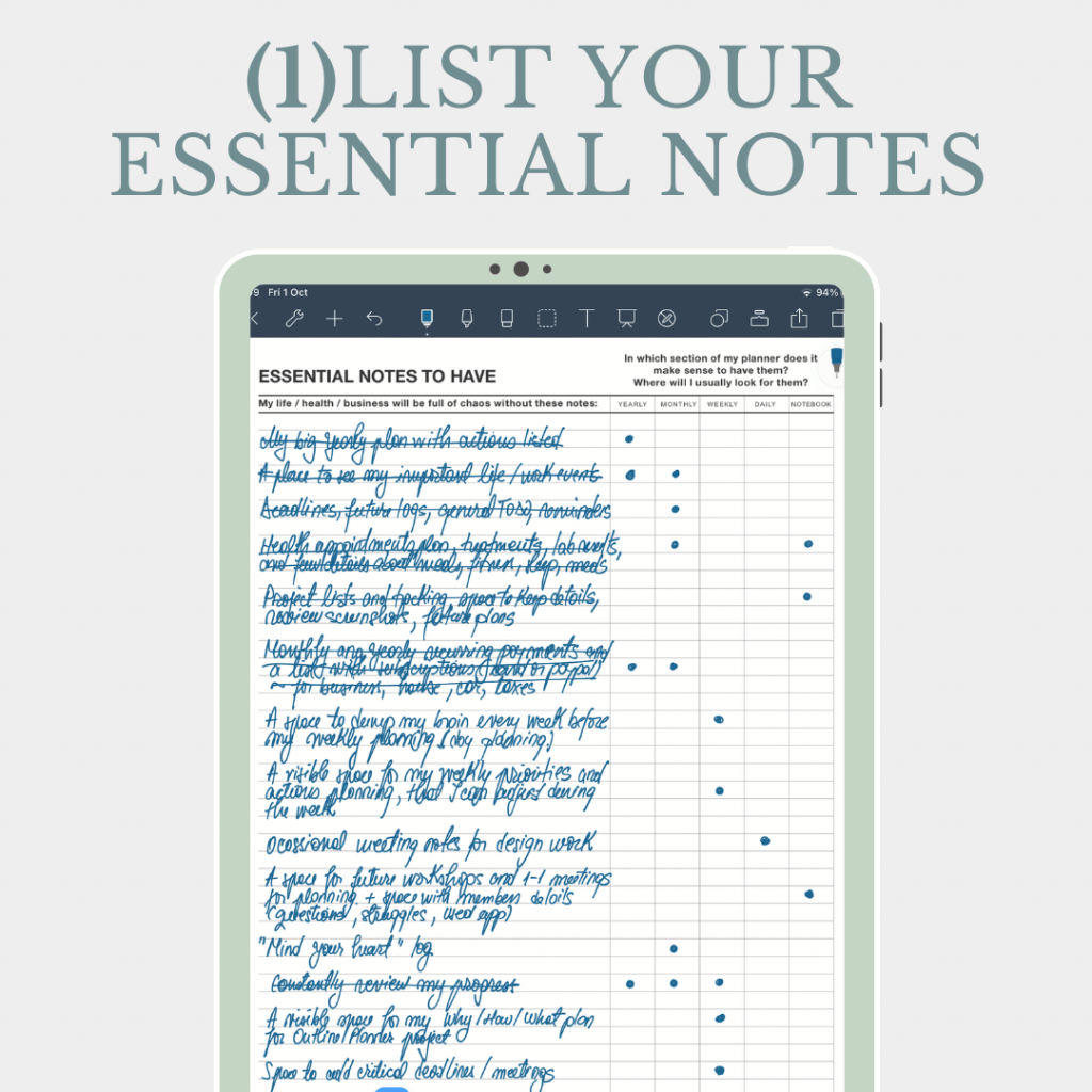 free digital planner 2022 worksheet for goodnotes and noteshelf