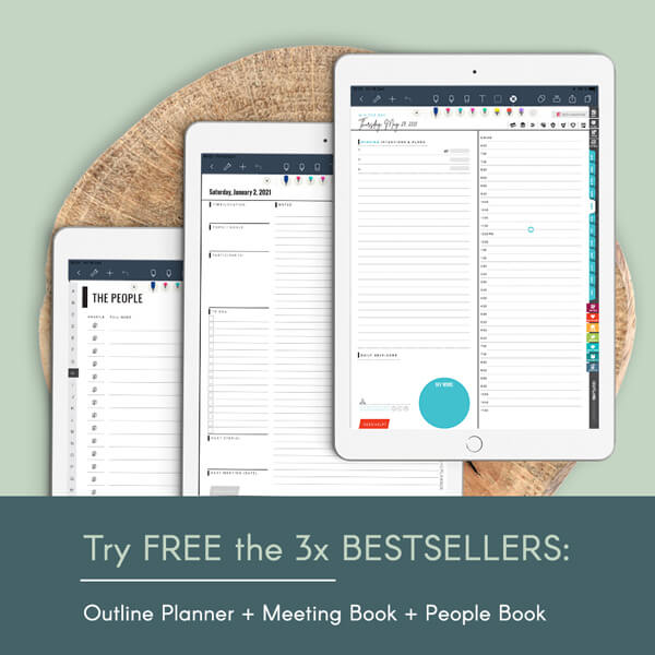 free digital planners