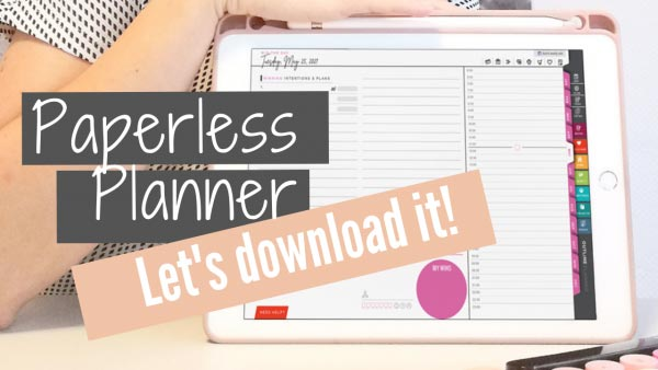 paperless planner ipad goodnotes